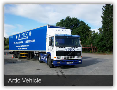 Vehicles Apex use - Artic